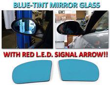 USA 03 04-06 Mercedes Benz W211 E Class Red Arrow LED Turn Signal Mirror Glass