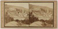 Germania Baden-Baden, Foto PL27L3n Stereo Vintage Albumina c1860