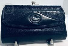 ~Vintage*DOONEY & BOURKE*Leather*Navy*P74*Organizer Checkbook Wallet*19027B