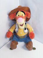 Disney Sheriff Tigger Winnie the Pooh Soft Toy Disney Store No Tags