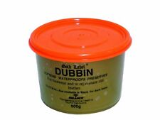 Gold Label Dubbin Natural Waterproof Leather Softens & Preserves 500g