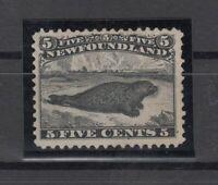 I3586/ CANADA – NEWFOUNDLAND – SG # 38 MINT NO GUM – CV 405 $