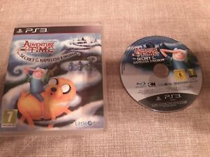 ADVENTURE TIME THE SECRET OF THE NAMELESS KINGDOM PS3 PLAYSTATION 3 PREOWNED