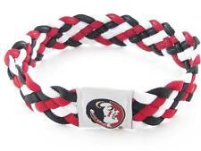 Florida State Seminoles Red Black Braided Hair Band Headband Workout FSU Gift