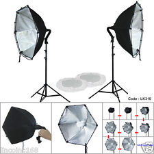 Linco 2 Softbox Studio Video Photo Lighting Photography Light Kit