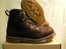 Dr marten's boots holkham gaucho brun fonce size 12 us new with box