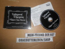 CD Indie Lightspeed Champion - Madame Van Damme (1 Song) Promo DOMINO Presskit