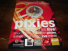 4AD - PIXIES - PUBLICITE / ADVERT BOSSANOVA !!!!!!!!!!
