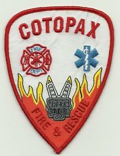 Cotopax Fire and Resue Patch
