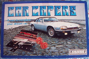 Car Capers Puzzle Game Dream Performance Cars 1989
