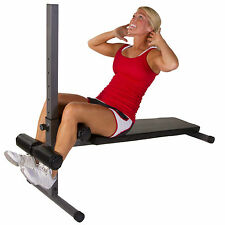 XMark Fitness Decline Ab Abdominal Core Sit Up Slant Board Bench XM-4360