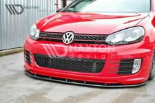 BODY KIT PARAURTI LAMA Splitter anteriore VW GOLF VI MK6 GTI 35TH