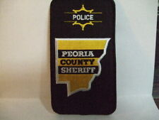 police patch  PEORIA COUNTY SHERIFF ILLINOIS