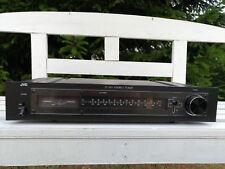 JVC JT-V10 Stereo Tuner analog klassisch mit Pegelanzeige Signal Level schwarz
