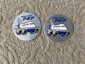 Boeing 747 Vintage Sticker