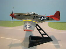 "WITTY WINGS USAAF P-51D ""TUSKEEGEE RED TAIL"" 1:72ND SCALE DIECAST METAL MODEL"