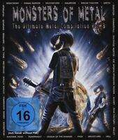 MONSTERS OF METAL VOL.8 2 BLU-RAY NEUF