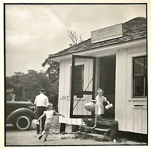 Orig. SOL LIBSOHN GELATIN SILVER PHOTO Cape Hatteras NC Buxton Post Office WPA