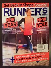 Runner's World New Year New You Get Back In Shape Special Feb 2016 FREE SHIPPING