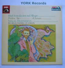 ESD 102011 - RAVEL - Introduction & Allegro Melos Ens Of London - Ex LP Record