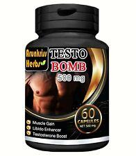 Testosterone Booster Men Supplement Male Enhancement Pills Erectile dysfunction
