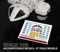 "SPACE 1999 EAGLE DECALS - Sixteen12, MPC & Product Enterprise 12"" Eagle Models"