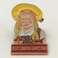 Olympic Jeux Canada Games 1989 Canadian Pin F953