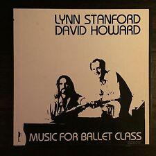 2 Lp Records Music For Ballet Class - Lynn Stanford & David Howard - 1982