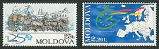 Moldova 1999 Historical Events, Council of Europe, UPU 2 MNH stamps