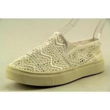 Chaussures décontractées blancs en toile pour fille de 2 à 16 ans
