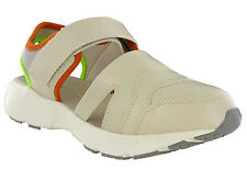 Extra Wide Sandals Womens Summer Lightweight Beach Holiday Trainers Eee Fitting Beige UK 6 Eee