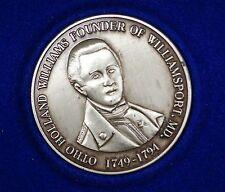 1976 Otho Holland Williams Willamsport Maryland Bicentennial Silver Medal
