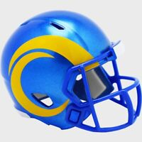 Los Angeles Rams 2020 Riddell Mini Revolution Speed Pocket Pro Football Helmet