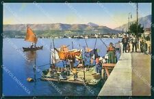 Brescia Salò Lago di Garda Lavandaie cartolina QT4738