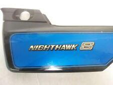 84 - 86 HONDA 700 NIGHTHAWK S CB700S LEFT SIDE COVER. NO CRACKS, GOOD MOUNTS.