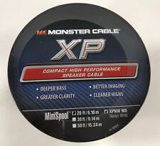 Monster Cable XP Navajo White Compact Speaker Cable 20 ft. mini spool - 6.09 m.