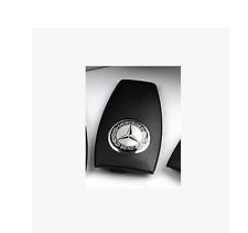 Mercedes Benz AMG Key FOB Cover Black/Silver with STAR BENZ Logo Brand New