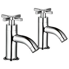 Mira Revive Chrome Hot and Cold Basin Taps 2.1819.002