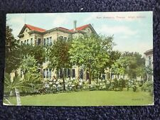 1910 The High School in San Antonio, Tx Texas PC