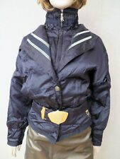 Bogner Women's black ski snowboarding parka jacket suit sz 10 M new nwot USA