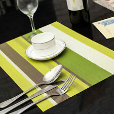 Wasserdicht Tischset Platzdeckchen Platzset Tischmatten Platzmatten Kochen