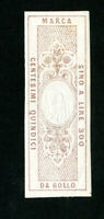 Italy Stamps Rare double Head Proof