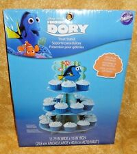 Finding Dory Cupcake/Treat Stand, Cardboard,Wilton,1512-6676,12x16.5 In.