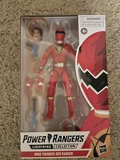 power rangers lightning collection Dino Thunder Red Ranger IN HAND