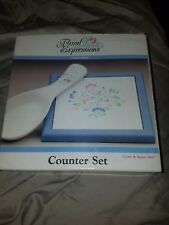 floral expressions hearthside counter set trivet and spoon set