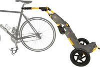 Burley Travoy Urban Trailer System: Yellow