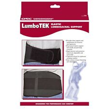 OTC LumboTek Lumbosacral Support with 11 Back Inserts, XL, Black, (2895-BL11-XL)