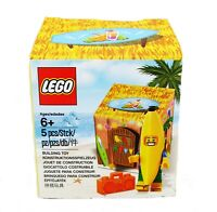 Lego Banana Man Guy Juice Bar Tiki Hut mini figure Set Beach Luau Party Decor
