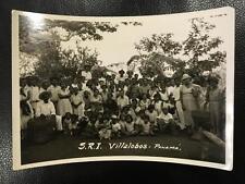 Original Photo Villalobos Panama Peasants