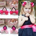Fashion Girl Cat Ear Hairpin Kids Cute Barrettes Hair Clip Baby Hair Accessories